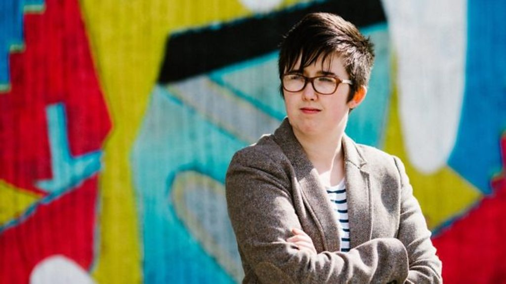 p076zy6x - Lyra McKee: Police release footage of suspected gunman