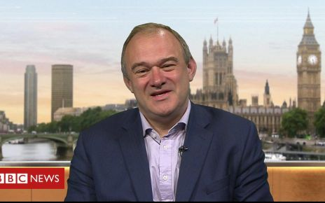 106777614 p0785r3l - Sir Ed Davey: 'The Liberal Democrats are back in business'