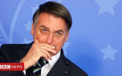106791267 053667063 - Brazil's President Bolsonaro cancels trip to New York