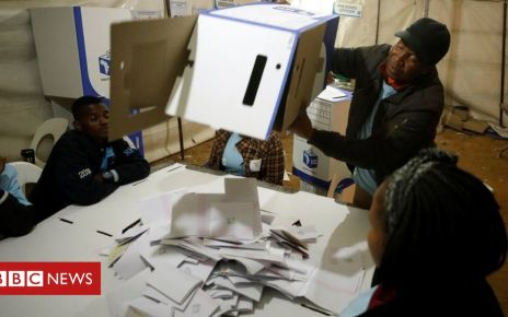 106852301 mediaitem106852298 - South Africa election: Count under way in tough test for ANC