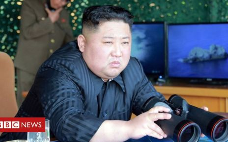 106852531 mediaitem106852528 - North Korea fires 'unidentified projectile'