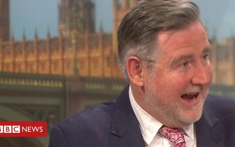 106952504 p0795p14 - Socialist labels for Barry Gardiner and Jeremy Corbyn