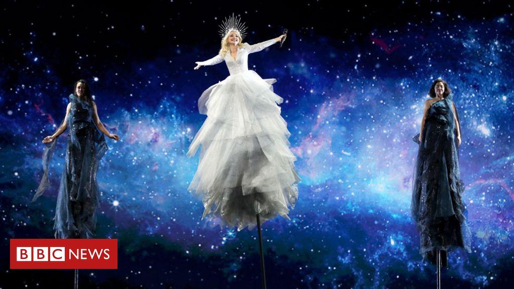 106953561 12.australia1 epa - Hackers interrupt Israeli Eurovision webcast with faked explosions