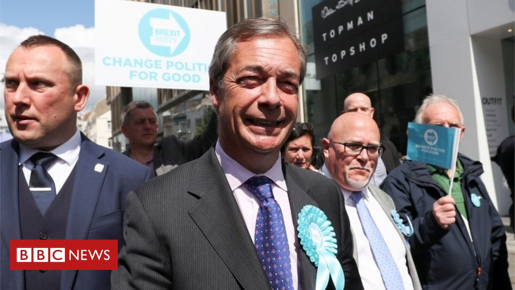 107049155 farage - 2019 European Elections: Watchdog defends Brexit Party scrutiny