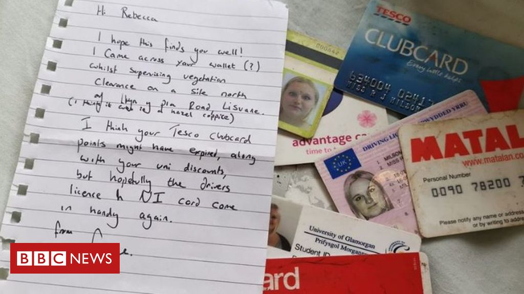 107051019 facebookpic - Cardiff woman's purse contents returned after 10 years