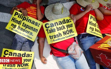 107055660 hi054105485 - Philippines' Duterte orders rubbish sent back to Canada