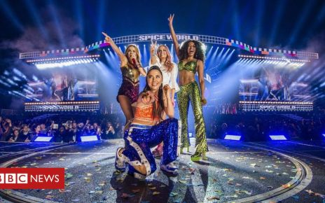 107107103 spice2 - Spice Girls: Fans take to Twitter over Dublin gig sound