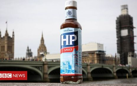 107179854 hppa1 - Big Ben scaffolding added to HP Sauce label