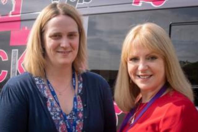 SENCO Mrs Brabbin and Head Teacher Mrs McCarney