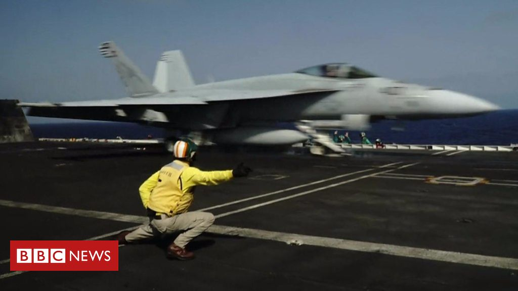 107287144 p07ch6z3 - Aboard the USS Abraham Lincoln in the Arabian Sea