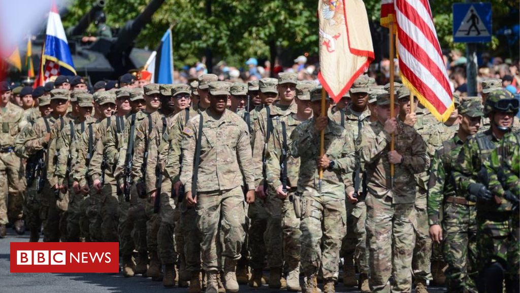 107341541 gettyimages 831780390 - Trump: US to send 1,000 troops to Poland in new deal