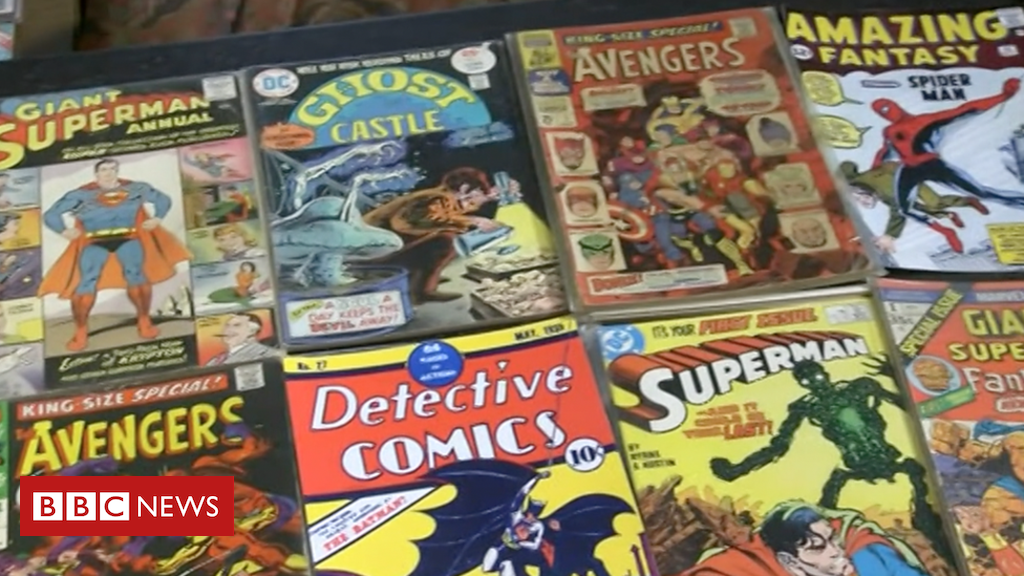 107347720 p07cyd1g - Marvel and DC comics: Man sells £350k collection