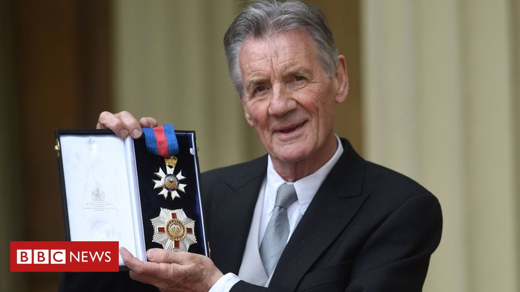 107352070 palinpa - Sir Michael Palin 'will probably be only knighted Python'