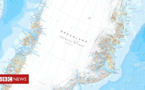 107352842 full - Greenland map captures changing Arctic in fine detail