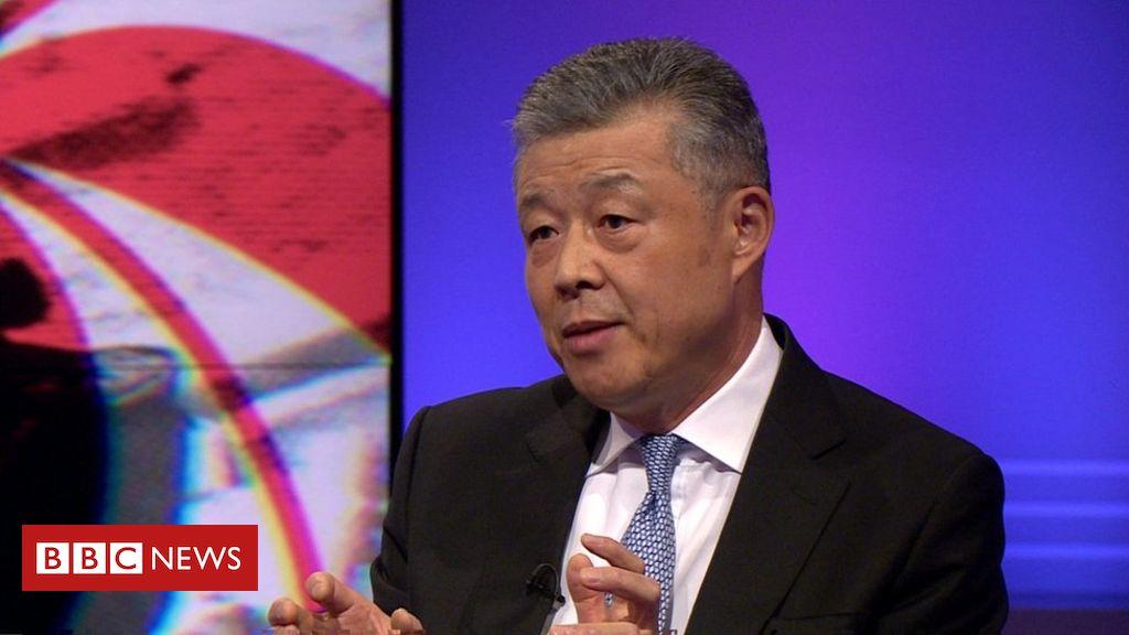 107358956 chinasambassador - Huawei: UK warned over sending 'bad signal' to China