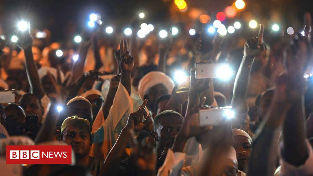 107400451 gettyimages 1144703645 - Letter from Africa: 'Sudan's revolutionaries offline but not silenced'