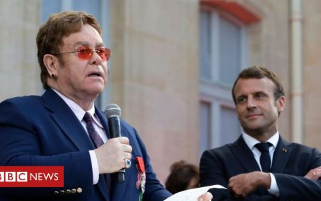 107496089 247cdb6d 199a 4b8c 9a7f 070a9bd6c3bf - Elton John awarded France's highest civilian award Legion d'Honneur