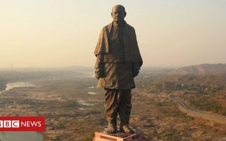 107543637 p07f6n7n - The lives disrupted by the world's tallest statue
