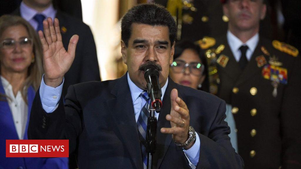 107555615 hi054810134 - Venezuela crisis: Maduro says 'fascist' coup foiled