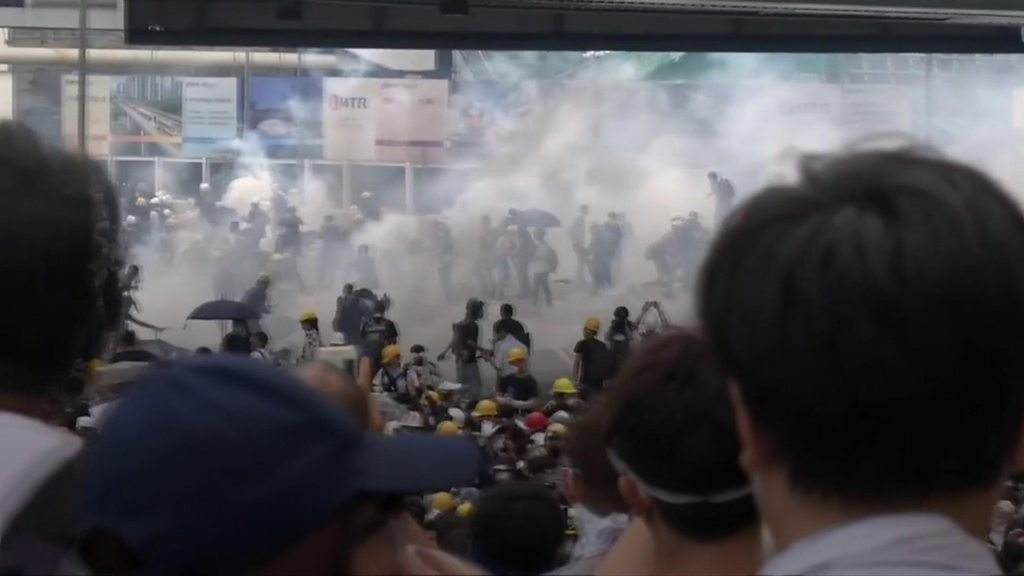 p07cxbq5 - Hong Kong extradition protests leaves city in shock