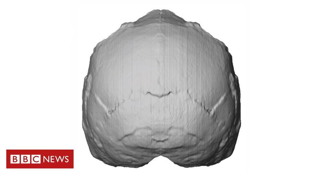 107796890 skull - Earliest modern human found outside Africa