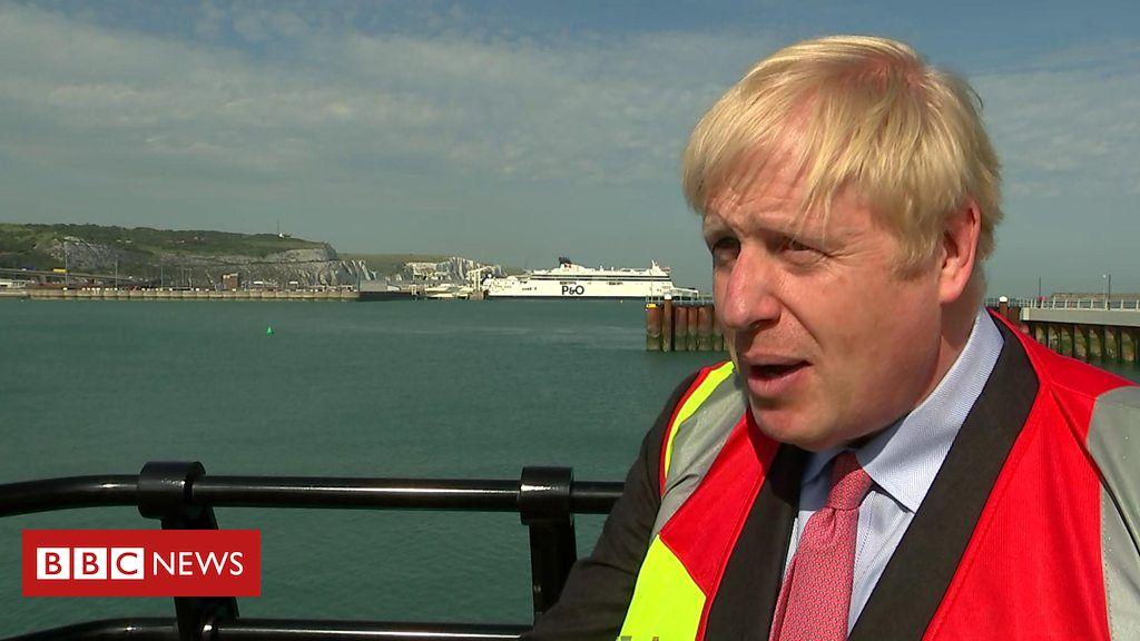 107842148 p07gnchx - Boris Johnson: President Trump's tweets 'could be more diplomatic'