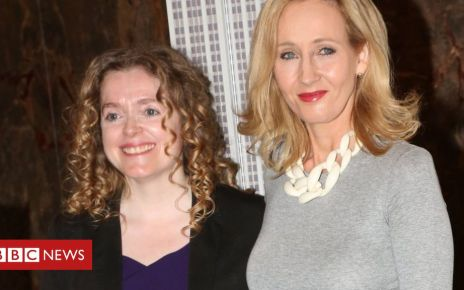107882477 rowling getty - JK Rowling charity boss leaves post amid 'culture challenges'