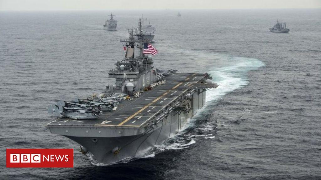 107931807 a3e81496 0df8 41b5 b889 85a55ee163dc - US shot down Iranian drone in Strait of Hormuz, says Trump