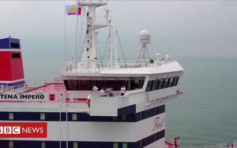 107961432 p07hg5d9 - Radio exchanges reveal Iran-UK confrontation as ship seized