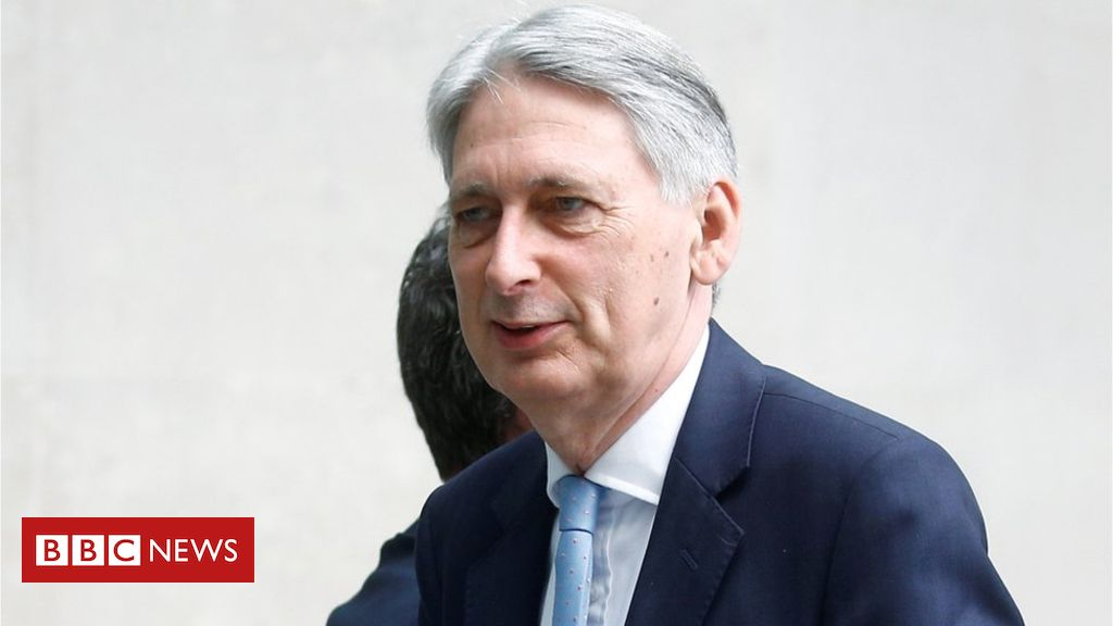 107962192 hammondreuters - Philip Hammond plans to quit if Johnson becomes PM
