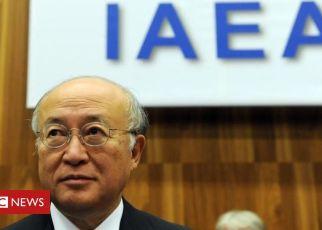 107969721 mediaitem107969720 - IAEA chief Yukiya Amano dies at 72