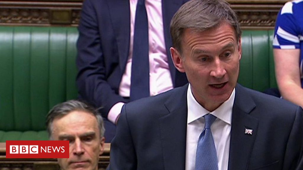 107977436 p07hk5rc - Jeremy Hunt statement on Iran actions over Stena Impero