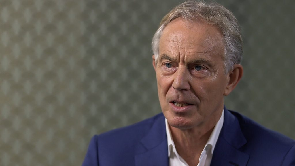 p07hkj0n - Tony Blair: Former PM refuses to confirm he will vote Labour