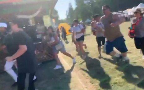 p07j4bjq - Garlic festival shooting: Children aged six and 13 confirmed dead