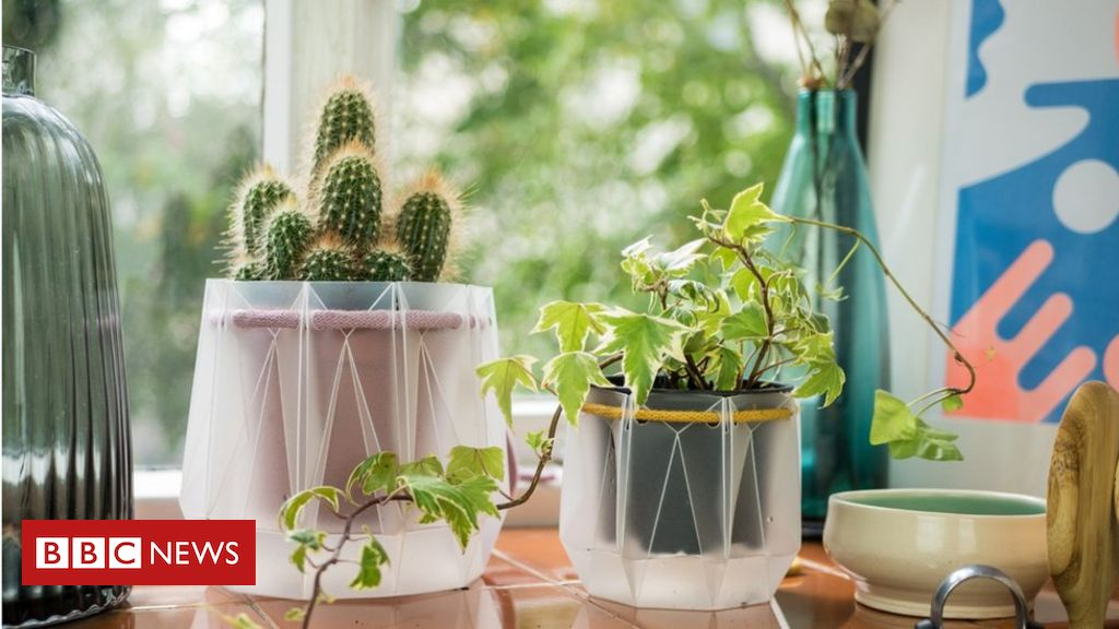 108262793 pot3 - Engineers design flat pack self-watering plant pot