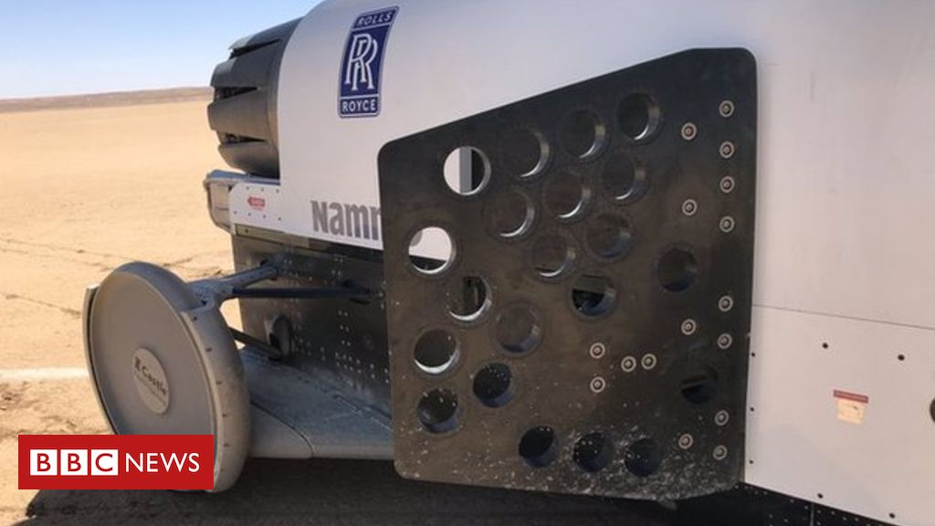 109652968 ejptwi0x0aauclb - Bloodhound car returns to the track for brake testing