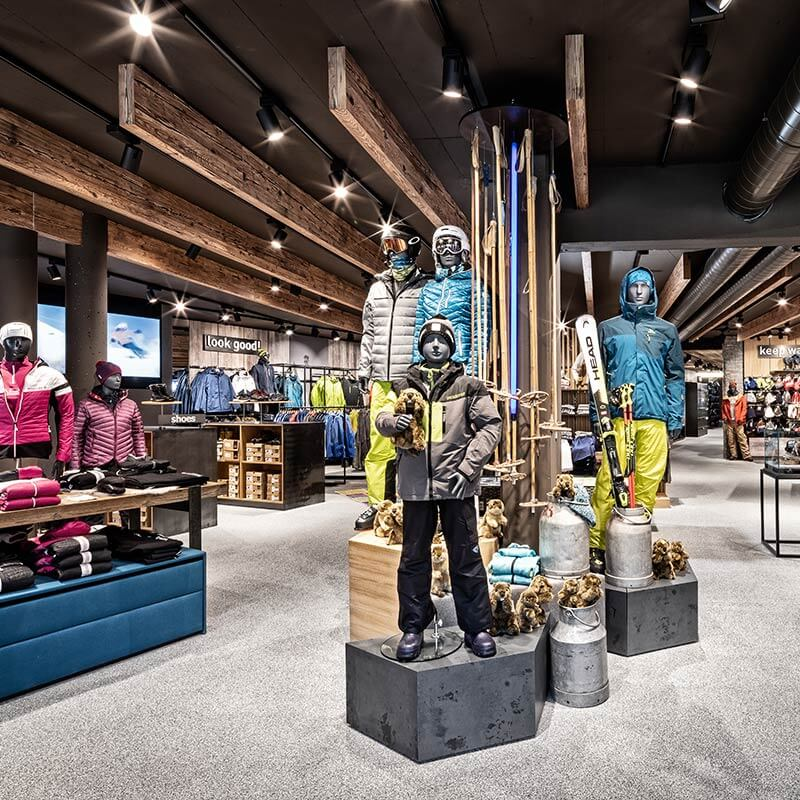 Skiverleih Kaprun Intersport Rent und Buy