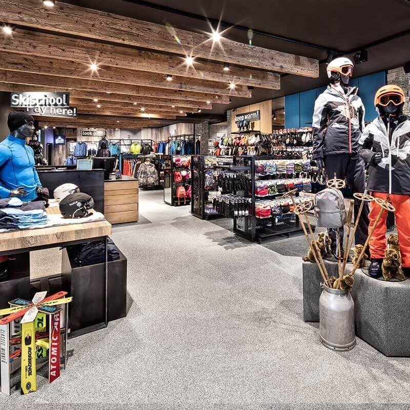 Skiverleih Rent und Buy Kaprun Intersport