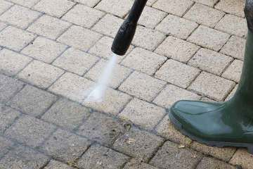 Patio Driveway Cleaning