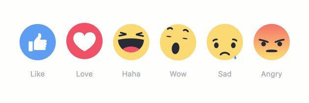 facebook-reakcje
