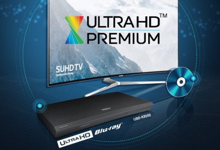 Samsung UBD-K8500 logo