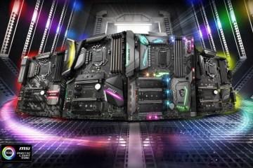 Материнские платы Gigabyte и MSI совместимы с процессорами Intel Core 9000