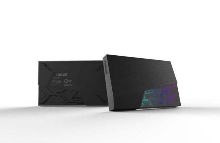 ASUS FX HDD - внешние жесткие диски с подсветкой LED RGB