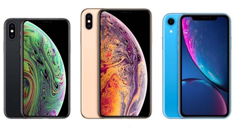 Размеры смартфоновiPhone Xs, iPhone Xs Max иiPhone Xr фото