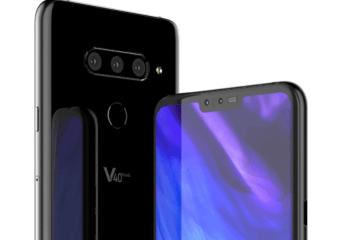 LG V40 ThinQ с тройной камерой конфигурация