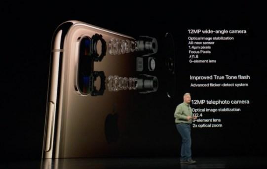 Xs и Apple iPhone Xs Max - двойная камера