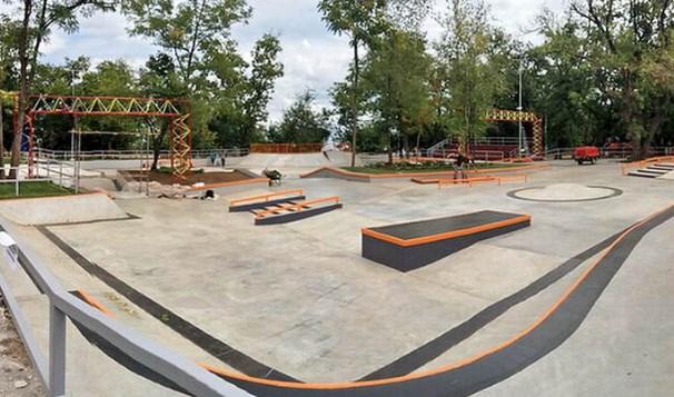 самый большой скейт-парк в Украине