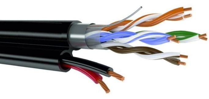 телефонные сети кабель витая пара