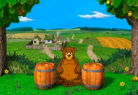 онлайн игра как медведи любят мед