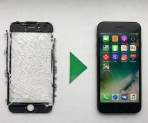 заменить экран айфон 7